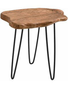 Table d'appoint WOODY 110 Naturel - par Arte Espina