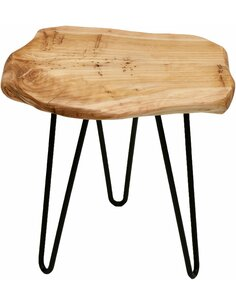 Table d'appoint WOODY 210 Naturel - par Arte Espina