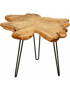 Table d'appoint WOODY 410 Naturel - par Arte Espina