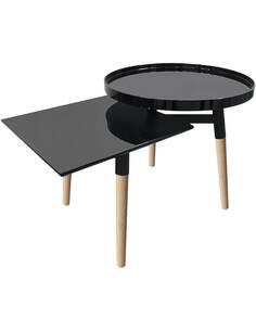 Table de plateau BUTLER 210 Noir - par Arte Espina