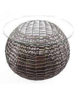 Table basse Baran 120 brun foncé - par Arte Espina