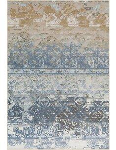 Tapis FLASH 2707 Multicolore BLAU - par Arte Espina