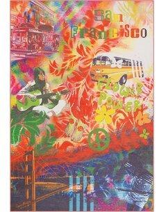 Tapis FLASH 2702 Multicolore SANFRAN - par Arte Espina