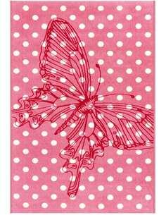 Tapis SUN 4182 PINK BUTTERFLY - par Arte Espina