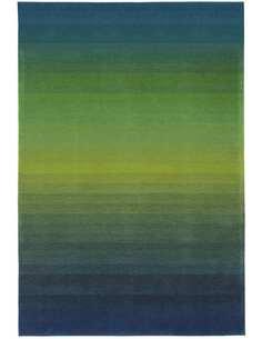 Tapis DYNAMIQUE 5040 Bleu Vert - par Arte Espina