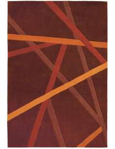 Tapis JOY Marron 4060 Orange - par Arte Espina