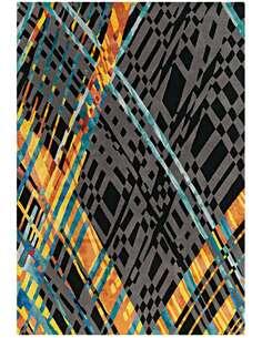Tapis DIAMANT Multicolore 8050 BLÉ - par Arte Espina