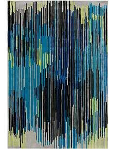 Tapis 8039 DIAMANT Multicolore Bleu - par Arte Espina