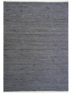 Tapis extérieur FONTAINE 110 Noir Blanc - par Arte Espina