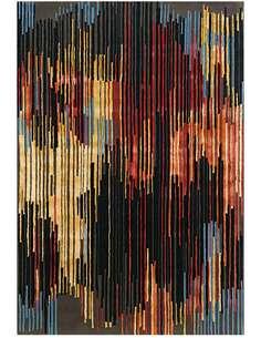 Tapis DIAMANT 8039 Multicolore Marron - par Arte Espina