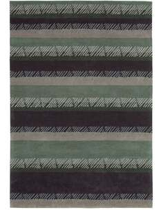 Tapis DYNAMIQUE 5037 Multicolore GRAUGRÜN - par Arte Espina