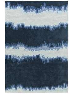 Tapis ESPRIT 3090 Bleu Blanc - par Arte Espina
