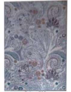 Tapis VINTAGE FLOWER Bleu Gris - par Arte Espina