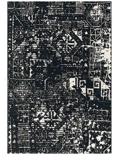 Tapis DÉPLACER 4448 Noir Blanc - par Arte Espina
