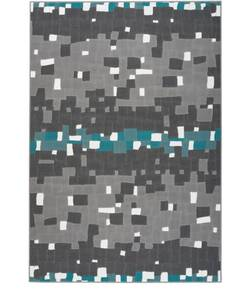 Tapis VANCOUVER 210 Multicolore Turquoise - par Arte Espina