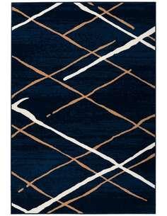 Tapis VANCOUVER 110 Bleu Beige Blanc - par Arte Espina