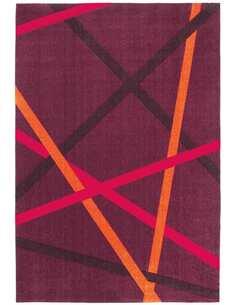 Tapis STYLE 26 Violet Orange - par Arte Espina