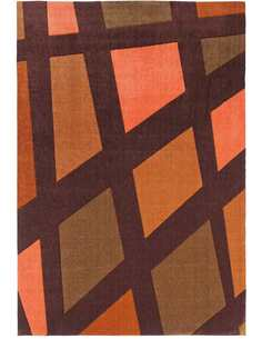 Tapis STYLE DE 32 Marron Orange - par Arte Espina