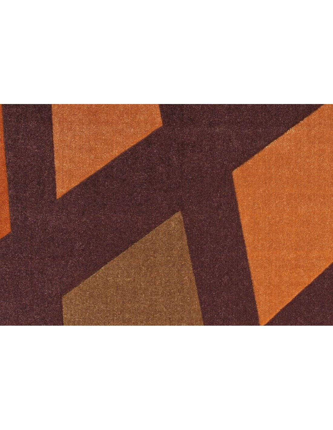 Tapis STYLE DE 32 Marron Orange | Arte Espina | Marron