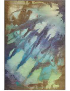 Tapis ATELIER 4438 Multicolore Bleu - par Arte Espina