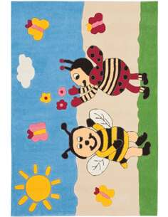 Tapis JOY 4091 Multicolore BUMBLEBEE - par Arte Espina