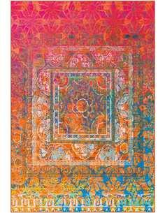 Tapis ATELIER Multicolore 4434 Orange - par Arte Espina