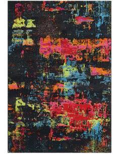 Tapis DÉPLACER 4440 Multicolore Gris foncé - par Arte Espina