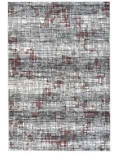 Tapis VANCOUVER 310 Multicolore Rouge - par Arte Espina