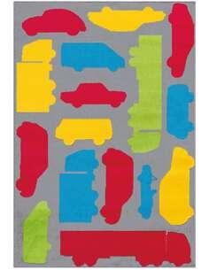 Tapis LOL Enfants 4433 Multicolore Rouge - par Arte Espina