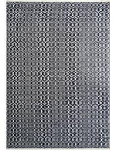 Tapis extérieur FONTAINE 210 Noir Blanc - par Arte Espina