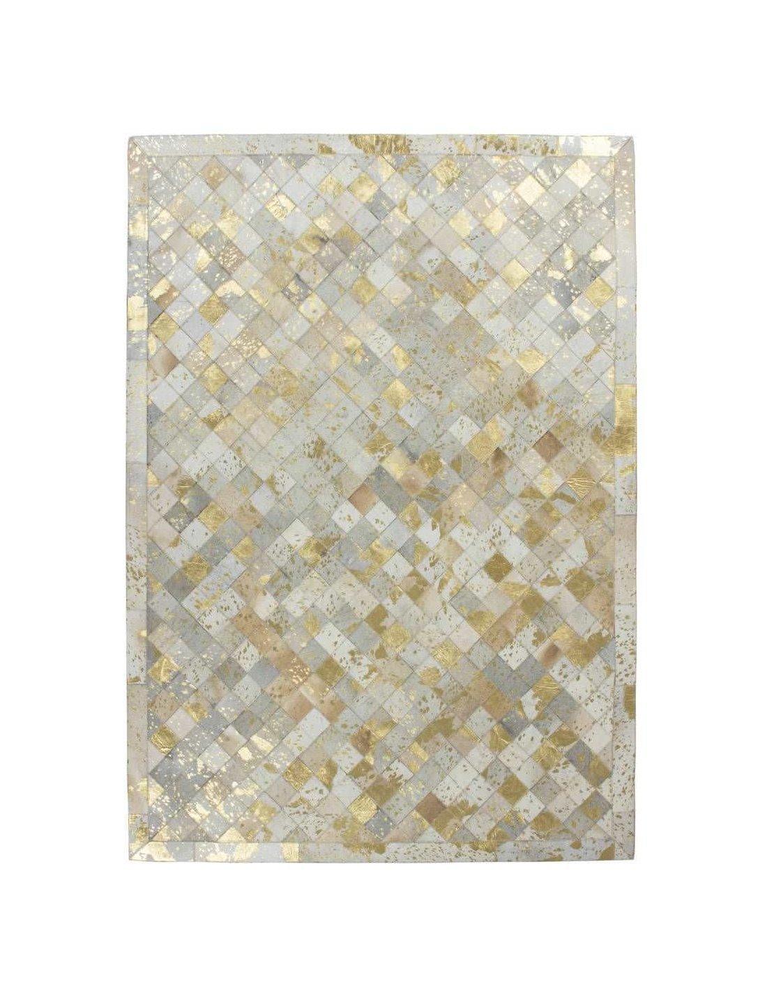 Tapis Lavish 210 Blanc Or Arte Espina Blanc
