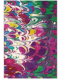 Tapis DÉPLACER 4441 Multicolore Violet - par Arte Espina
