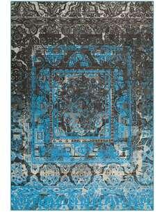 Tapis ATELIER 4435 Bleu Gris - par Arte Espina