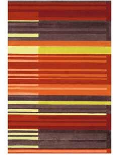 Tapis JOY 4066 Multicolore Orange - par Arte Espina