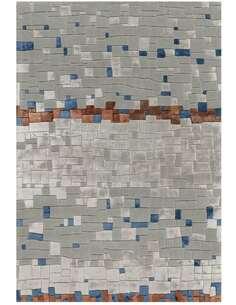 Tapis DIAMANT 8036 Gris Beige Bleu - par Arte Espina