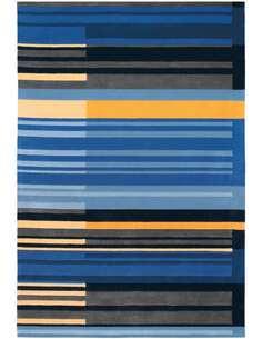 Tapis JOY 4066 Multicolore Bleu - par Arte Espina