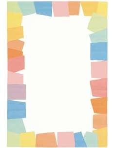 Tapis JOY 4088 Blanc Multicolore - par Arte Espina