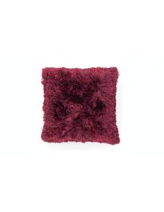 Coussin Fourrure METTEZ 340 Rouge - par Arte Espina
