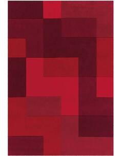 Tapis 4073 JOY Rouge - par Arte Espina