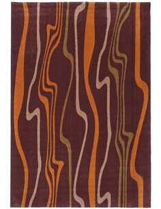 Tapis STYLE DE 42 Marron Orange - par Arte Espina