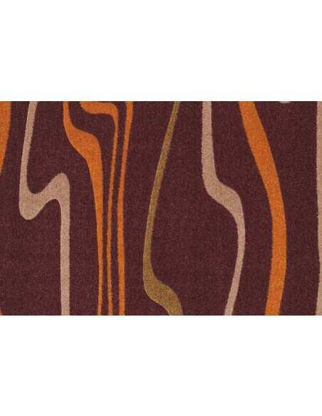 Tapis STYLE DE 42 Marron Orange   Par Arte Espina