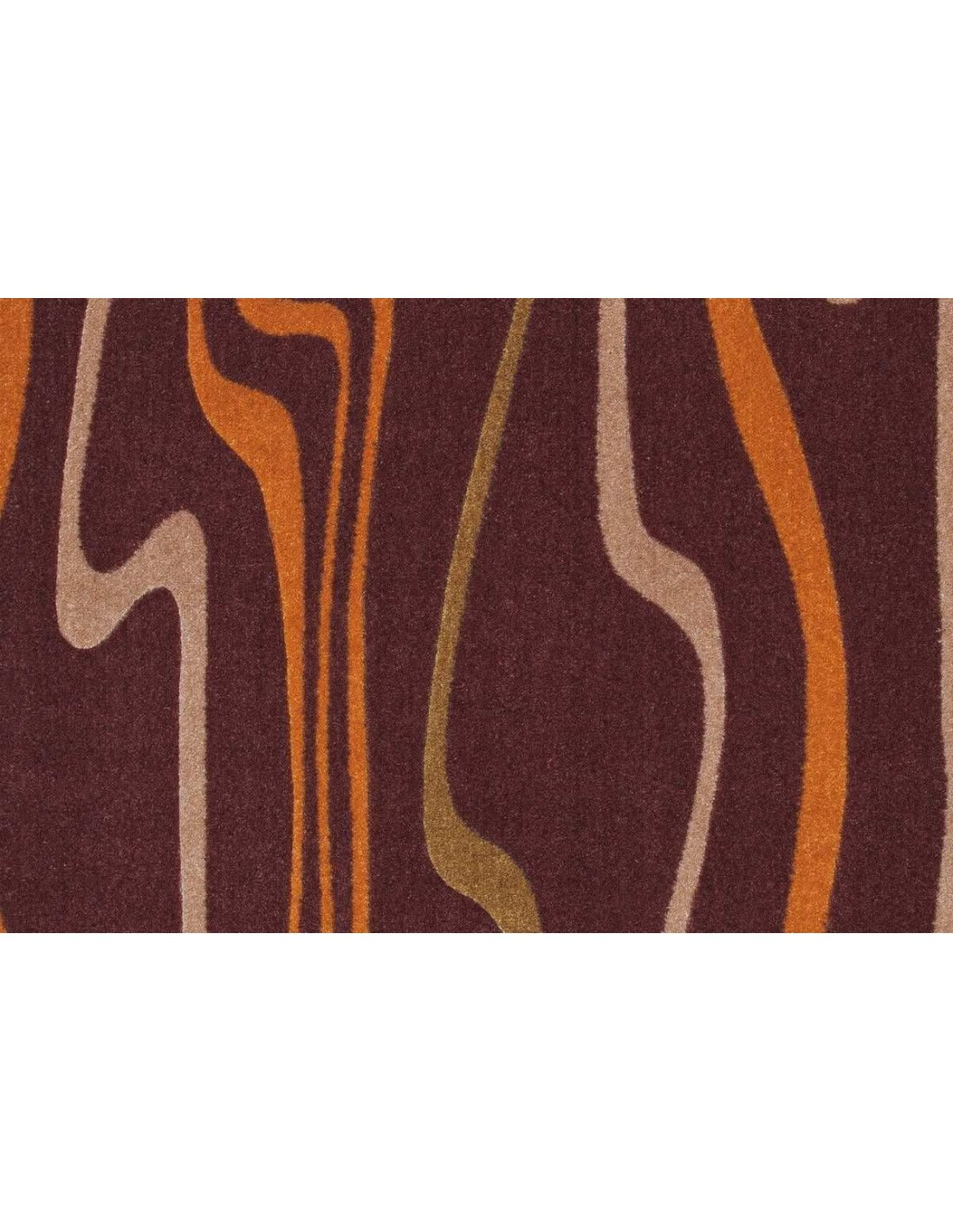 Tapis STYLE DE 42 Marron Orange | Arte Espina | Marron