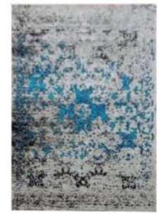 Tapis VINTAGE USED Bleu Gris - par Arte Espina