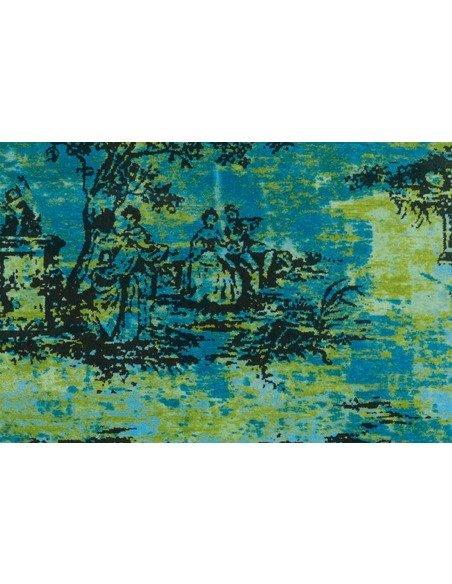Tapis VINTAGE 5206 Turquoise - par Arte Espina