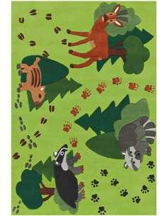 Tapis JOY 4176 Multicolore FORÊT - par Arte Espina