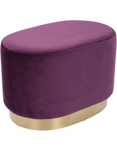 Pouf banquette NANO Violet 410 - par Arte Espina