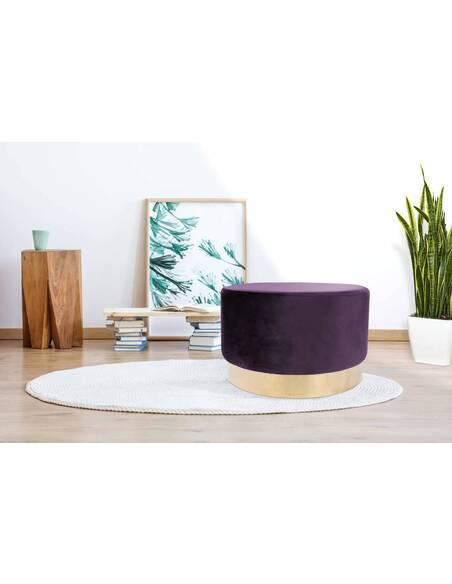 Pouf banquette NANO 510 Violet - par Arte Espina