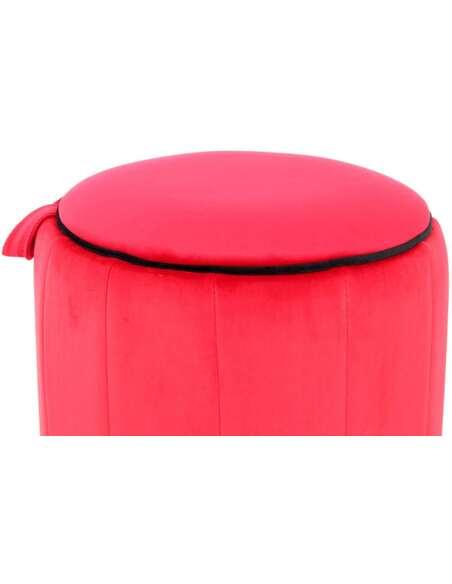 Pouf REESE 110 Rouge - par Arte Espina