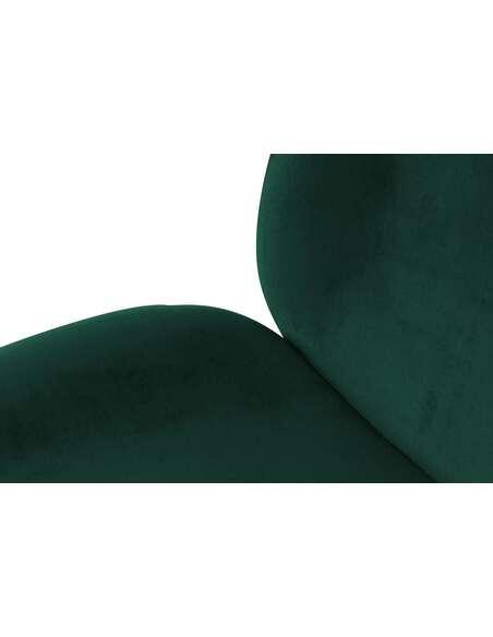x2 chaises CHARLIZE 110 Vert Chrome - par Arte Espina