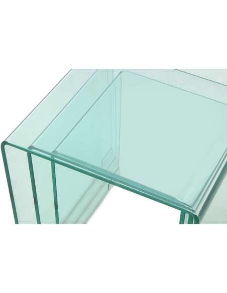 3x Table gigognes EAST SIDE 110 - par Arte Espina